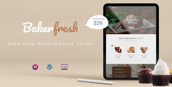 Bakerfresh - Cake Shop WooCommerce Theme - WooCommerce eCommerce