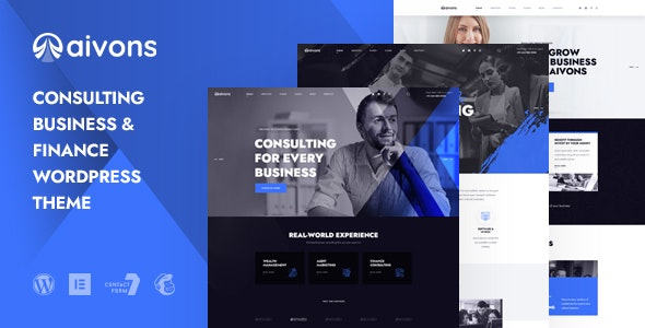 Aivons - Business Consulting WordPress Theme - Business Corporate