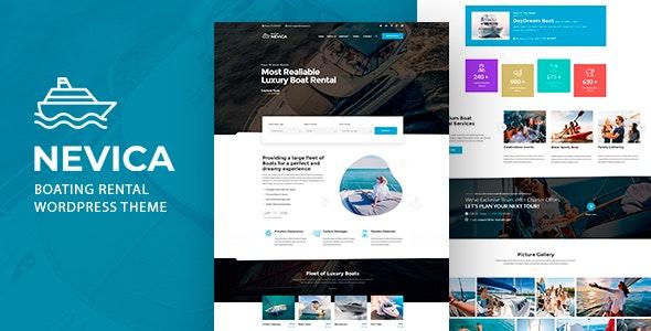 Nevica - Yacht Rental Theme - Travel Retail
