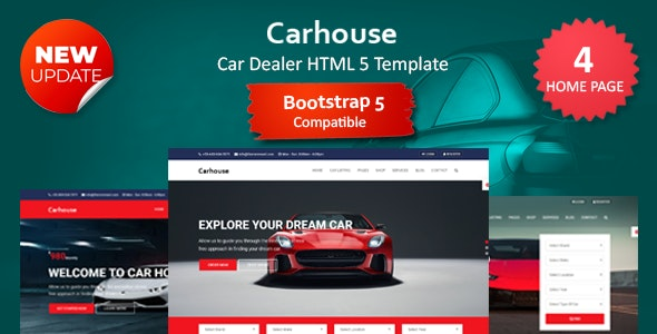Car House - Automobile HTML5 Template - Shopping Retail