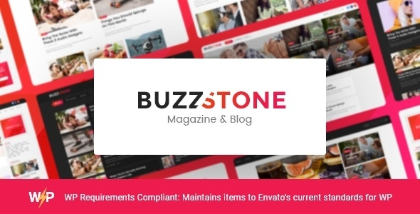 Buzz Stone | Magazine & Viral Blog WordPress Theme - News / Editorial Blog / Magazine
