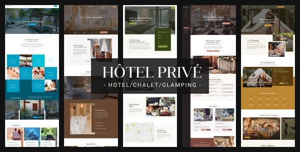 HotelPrive - Resort HTML Template - Travel Retail