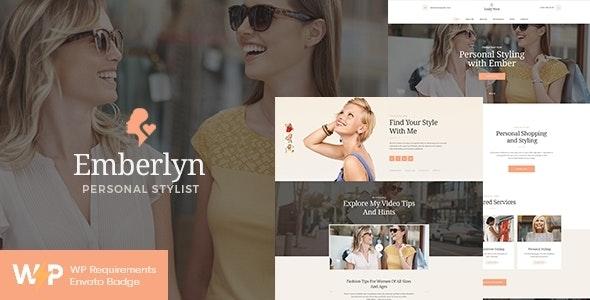 Emberlyn | Personal Stylist & Fashion Clothing WordPress Theme - Personal Blog / Magazine