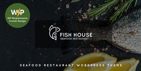 Fish House   A Stylish Seafood Restaurant / Cafe / Bar WordPress Theme - Restaurants & Cafes Entertainment