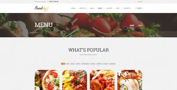 Fooddy 24/7 - Food Ordering & Delivery WordPress Theme + RTL