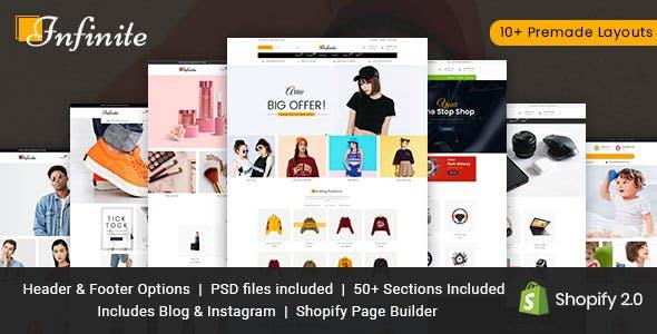 Infinite Multipurpose Shopify Theme