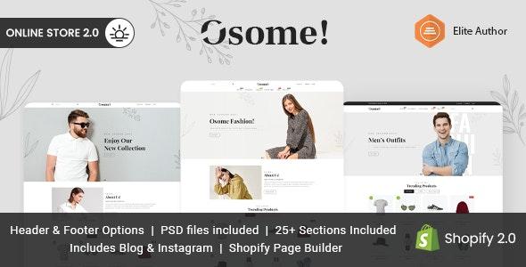 Osome - Multipurpose Shopify Theme - Shopify eCommerce