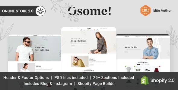 Osome - Multipurpose Shopify Theme