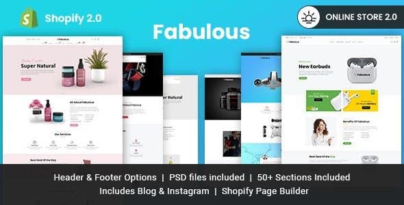 Fabulous - Single Product eCommerce Shopify Theme