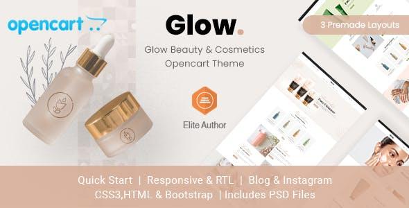 Glow - Beauty & Cosmetics Opencart Theme