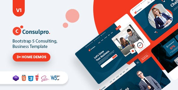 Consulpro – Business Consulting  Template