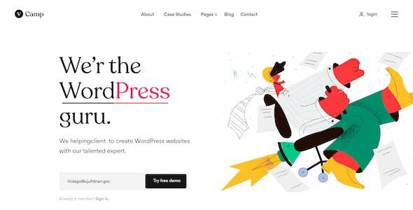 vCamp - Creative Portfolio & Agency Figma Template