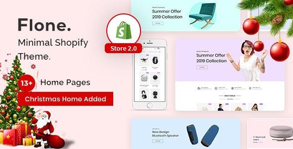 Flone - Minimal Shopify Theme - Fashion Shopify
