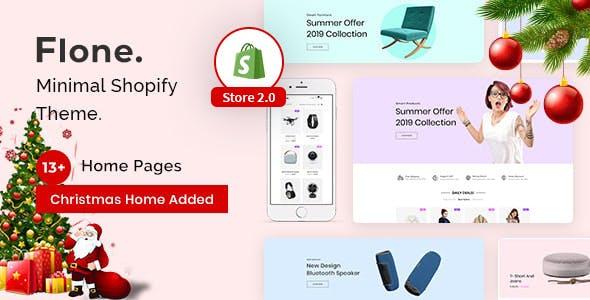 Flone - Minimal Shopify Theme