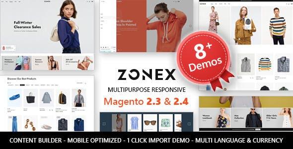 Zonex - MultiPurpose Responsive Magento 2 Theme