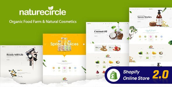 Naturecircle - Organic Food Shopify Theme