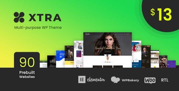 XTRA - Multipurpose WordPress Theme + RTL