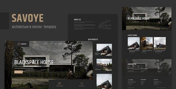 Savoye - Architecture & Interior Template