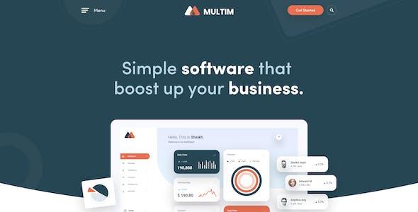 Multim - Multi-Purpose PSD Template