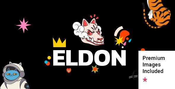 Eldon v1.0 – Artist Portfolio Theme