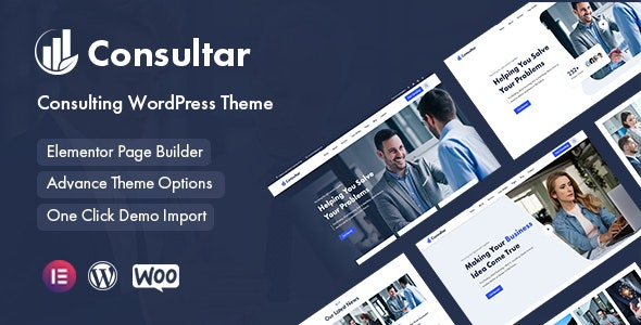 Consultar - Consulting Business WordPress Theme - Business Corporate