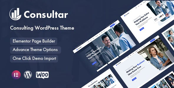 Consultar - Consulting Business WordPress Theme