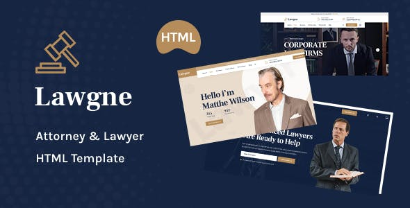 Lawgne - HTML Template for Attorney & Lawyers