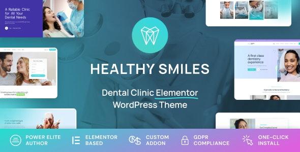 Healthy Smiles - Dental WordPress Theme - Health & Beauty Retail