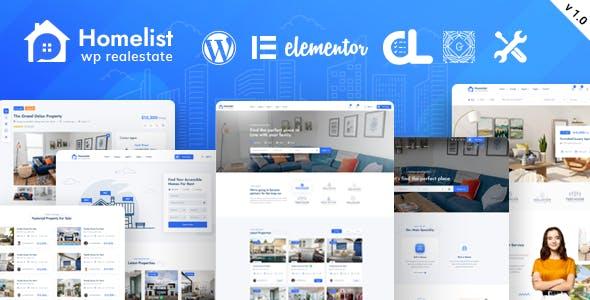 Homlisti – Real Estate WordPress Theme