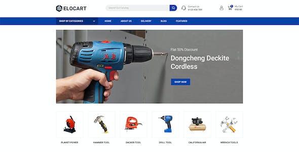 Elocart - Electronics & Tools & Furniture Store OpenCart 3 Responsive Theme