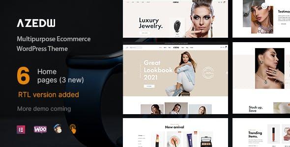 Azedw - Multipurpose Woocommerce WordPress Theme | RTL