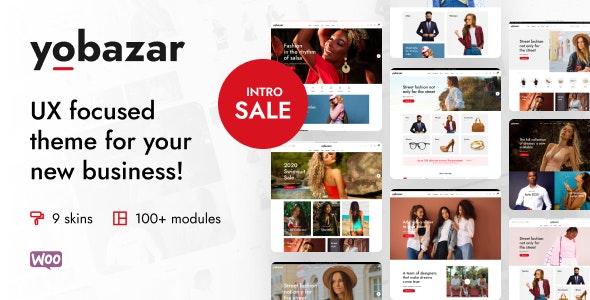 Yobazar v1.0.7 – Elementor WooCommerce WordPress Theme