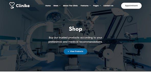 Clinika - Medical Clinic WordPress Theme