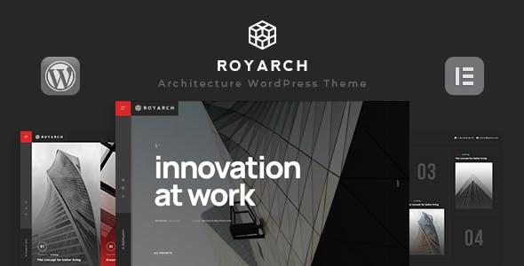Royarch - Architecture WordPress Theme