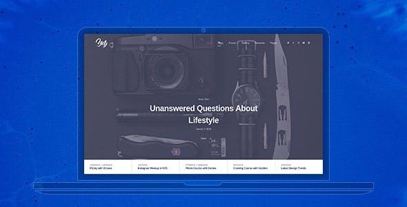 Yvy — Blog/Magazine WordPress Theme
