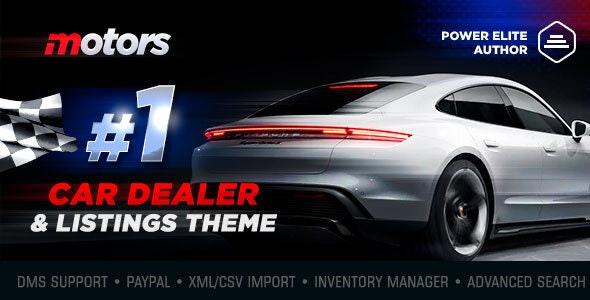 Motors - Car Dealer, Rental & Listing WordPress theme - Directory & Listings Corporate