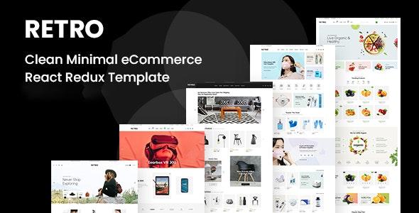 Retro - Clean Minimal eCommerce NextJs Redux Template - Shopping Retail