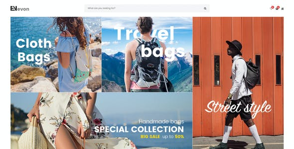 Evon - Bag Store WooCommerce WordPress Theme