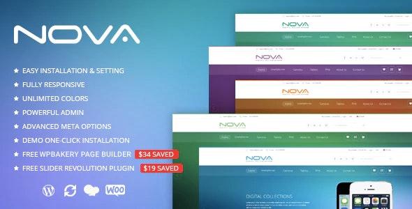 SNS Nova - Digital Store WordPress Theme - WooCommerce eCommerce