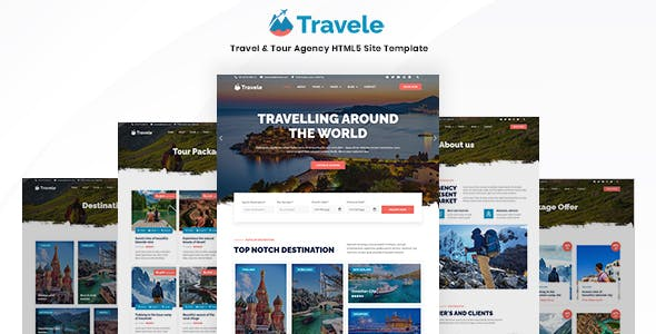 Travele – Travel & Tour Agency HTML5 Page Template