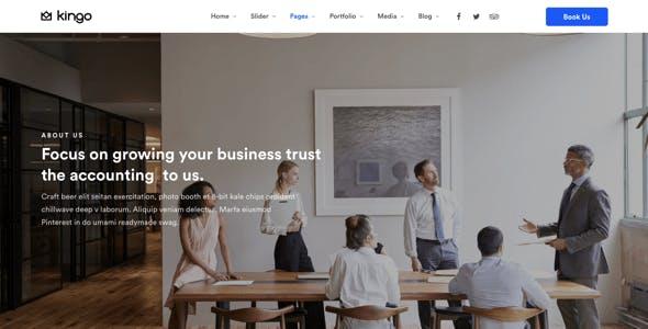 Kingo   Booking WordPress for Small Business