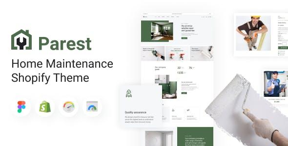 Parest - Home Maintenance Shopify Theme