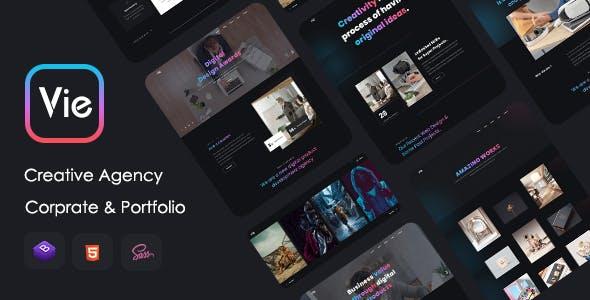 Vie - Creative Agency & Portfolio Template