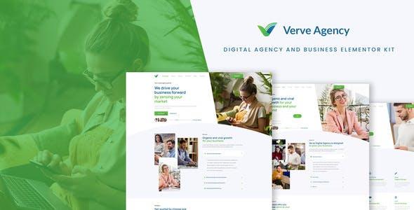 Verve - Creative & Business Elementor Template Kit