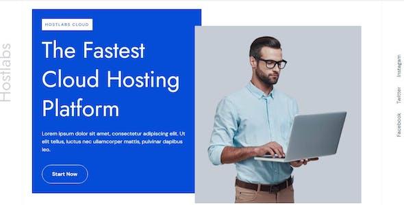 Hostlabs - Cloud Hosting Services Elementor Template Kit