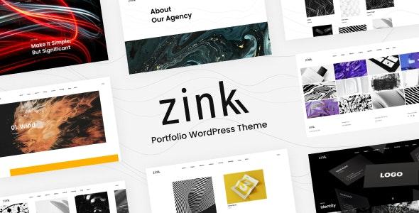 Zink - Portfolio Elementor - Portfolio Creative
