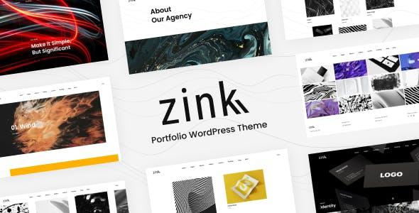 Zink - Portfolio Elementor