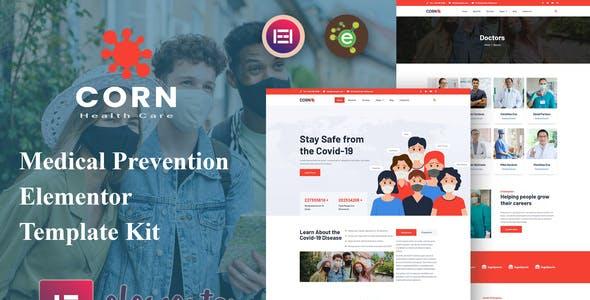 Corn - Medical Prevention Elementor Template Kit