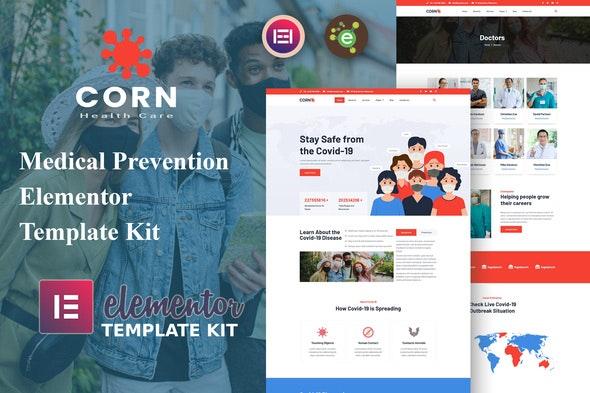 Corn - Medical Prevention Elementor Template Kit - Health & Medical Elementor