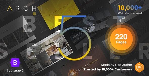 Archi - Bootstrap 5 Interior Design & Multi-Purpose Website Template - Creative Site Templates